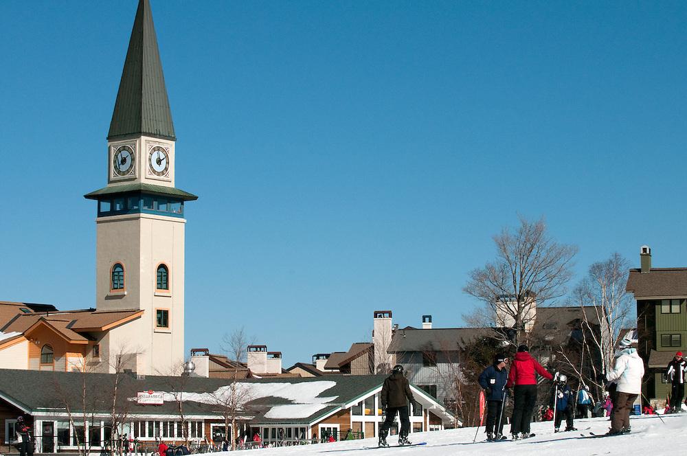 Stratton Mountain ski area, Vermont, Vermont.