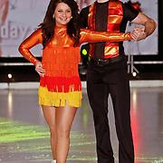 NLD/Utrecht/20110126 - Perspresentatie Sterren Dansen op het IJs 2011, Sieneke Peeters en Ryan Gutzmer