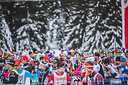 18.01.2020, Loipe Obertilliach, AUT, 50 Jahre Dolomitenlauf, Freestyle, im Bild Feature // during the 50 years Dolomitenlauf Freestyle race at Obertilliach, Austria on 2010/01/18, EXPA Pictures © 2020 PhotoCredit: EXPA/ Dominik Angere