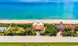 "EXCLUSIVE: This unique German castle can now be yours but it is not in the snowcapped mountains of Bavaria, instead, it sits on the golden coast of Florida. The stunning property was custom made by the Cramer family who owns the largest independent brewery in Germany. Dubbed the ""Warsteiner Castle"", after the name of the brewing company, it was built in 2004 in Melbourne Beach, Florida. The incredible home features five bedrooms, four full baths, two half baths and includes an in-law suite, a guest suite, a waterfall pool and a four-car garage. The 7,840 square-foot home is also being sold fully furnished. Built for entertaining with a media room and home theater, it also has spectacular views from everywhere in the home including a rooftop deck for star gazing and watching the rockets launch from Cape Canaveral. The ""castle"" stands as the landmark for the Aquarina Golf and Tennis Country Club, a gated golf community on the barrier island, which the Warsteiner company helped develop. The property also features unique German styling and interior design, made especially for the Cramer family. It even has a bar which was made from an imported metal barrel once used to brew the family's famous beer. The Warsteiner Brewing Company sold the property in 2015 to an American family who kept the property identical to the original owners. The current owners are now hoping to offload the home to someone who will enjoy its Germanic architecture. Warsteiner Brewery was founded in 1753 and is now one of the largest private breweries in Germany. The company is owned by Eva-Catharina Cramer after she inherited the family business. The property is being listed by realtor Dave Settgast. 17 Jan 2019 Pictured: Warsteiner Castle. Photo credit: Dave Settgast / MEGA TheMegaAgency.com +1 888 505 6342"