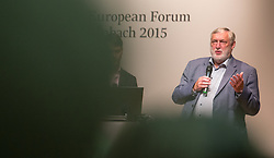 19.08.2015, Kongress, Alpbach, AUT, Forum Alpbach, Eröffnung, im Bild Franz Fischler (Präsident des Europäischen Forums Alpbach) // during the opening press conference of European Forum Alpbach at the Congress in Alpach, Austria on 2015/08/19. EXPA Pictures © 2014, PhotoCredit: EXPA/ Jakob Gruber