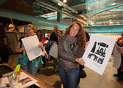 Christine Viento pictured at the Guinness Storehouse, celebrating talent and creativity on Arthur's Day 2013. Picture Andres Poveda