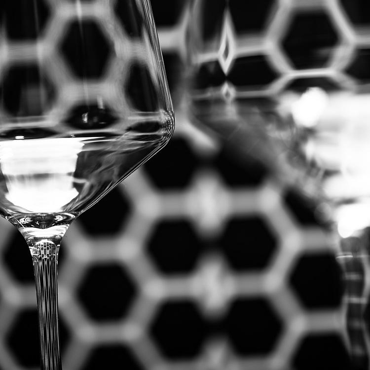 Abstract Glass Still Life by Ivan Guzman