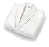 white bathrobe from the upham hotel and country house