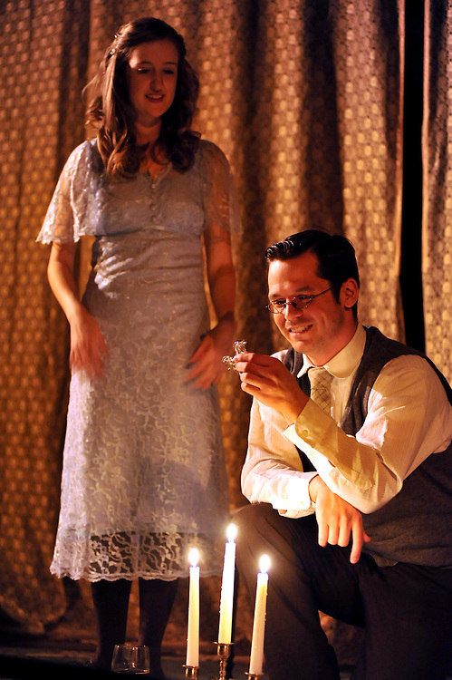 """Bag & Baggage's production of """"Glass Menagerie"""" in September 2010. (photo by Casey Campbell)"""