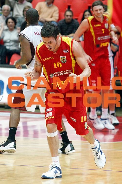 DESCRIZIONE : Livorno Lega A2 2008-09 Basket Livorno Prima Veroli<br /> GIOCATORE : Migliori Franco<br /> SQUADRA : Prima Veroli<br /> EVENTO : Campionato Lega A2 2008-2009<br /> GARA : Basket Livorno Prima Veroli<br /> DATA : 01/11/2008<br /> CATEGORIA : Esultanza<br /> SPORT : Pallacanestro<br /> AUTORE : Agenzia Ciamillo-Castoria/Stefano D'Errico
