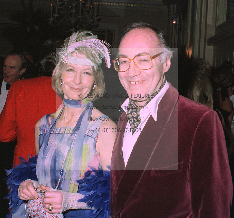 MR & MRS MICHAEL HOWARD he is the MP at a party in London on 27th January 1998.MEW 20