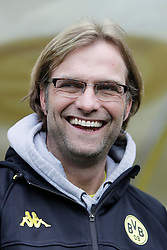 "28.01.2012, Signal Iduna Park, Dortmund, GER, 1. FBL, Borussia Dortmund vs 1899 Hoffenheim, 19. Spieltag, im Bild Trainer Juergen Klopp (Borussia Dortmund), Portrait // during the football match of the german ""Bundesliga"", 19th round, between GER, 1. FBL, Borussia Dortmund and 1899 Hoffenheim, at the Signal Iduna Park, Dortmund, Germany on 2012/01/28. EXPA Pictures © 2012, PhotoCredit: EXPA/ Eibner/ Oliver Vogler..***** ATTENTION - OUT OF GER *****"