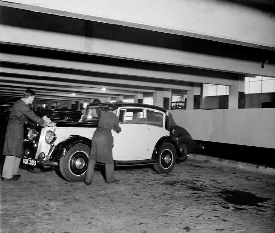 Olympia Car Park, London, England, 1937
