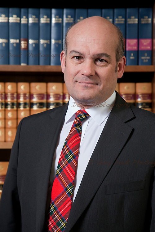 Austin Lafferty, the new Vice-President of the Law Society of Scotland