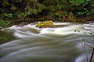 Spring runoff in Silverhope Creek near Hope, British Columbia, Canada