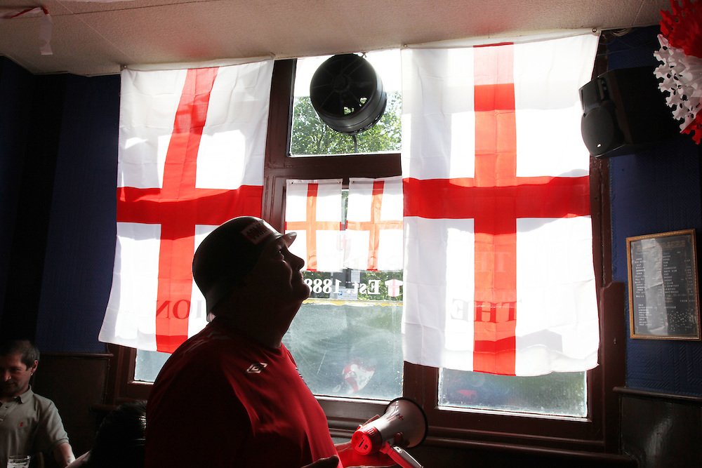 England v Germany at Three Lions in Hackney.<br />
