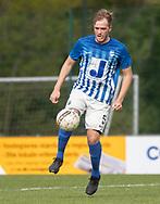 FODBOLD: Viktor Drachmann (Hornbæk IF) under finalen i Seriepokalen mellem Hornbæk IF og Ballerup Boldklub den 20. maj 2019 på Brøndby Stadion. Foto: Claus Birch.