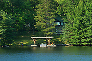 Cottage on Lake Muskoka, Bala, Ontario, Canada