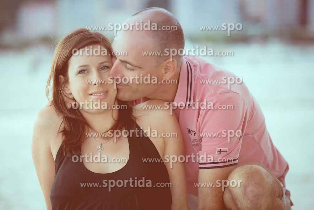 Klavdija in Ziga, Portoroz, July 13, 2014. Photo by Vid Ponikvar / Sportida