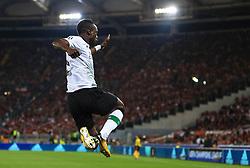 Sadio Mane of Liverpool celebrates after scoring his sides first goal - Mandatory by-line: Matt McNulty/JMP - 02/05/2018 - FOOTBALL - Stadio Olimpico - Rome,  - Roma v Liverpool - UEFA Champions League Semi Final, 2nd Leg