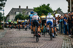 Peloton with Adne van Engelen of Bike Aid during 2017 National Road Race Championships Netherlands for Men Elite, Montferland, The Netherlands, 25 June 2017. Photo by Pim Nijland / PelotonPhotos.com | All photos usage must carry mandatory copyright credit (Peloton Photos | Pim Nijland)