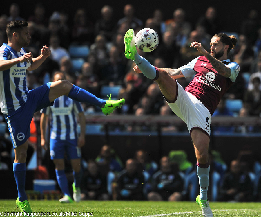 HENRI LANSBURY ASTON VILLA, HENRI LANSBURY ASTON VILLA, Aston Villa v Brighton &amp; Hove Albion Sky Bet Championship Villa Park, Brighton Promoted to Premiership Sunday 7th May 2017 Score 1-1 <br /> Photo:Mike Capps