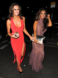 Waterloo Road actress Chelsee Healey and Charlotte Dawson at The Rose Club in London, UK. 30/08/2012<br />BYLINE MUST READ : GOTCHAIMAGES.COM<br /><br />Copyright by © Gotcha Images Ltd. All rights reserved.<br />Usage of this image is conditional upon the acceptance <br />of Gotcha Images Ltd, terms and conditions available at<br />www.gotchaimages.com