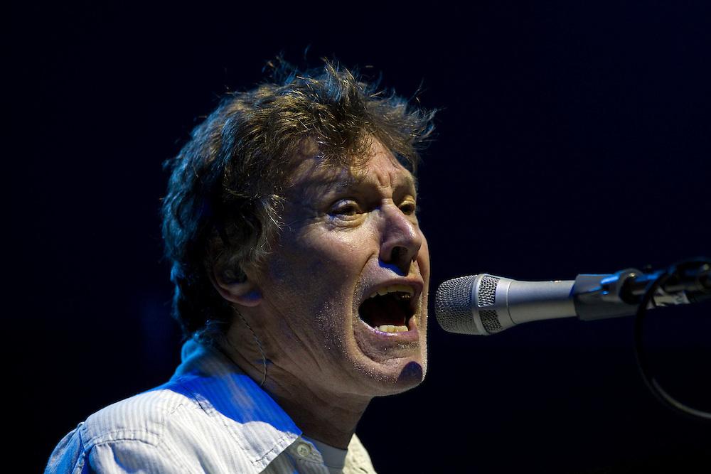 Legendary British vocalist Steve Winwood performs live in concert, Vector Arena, Auckland, New Zealand, Friday, November 04, 2011.   Credit:SNPA / David Rowland