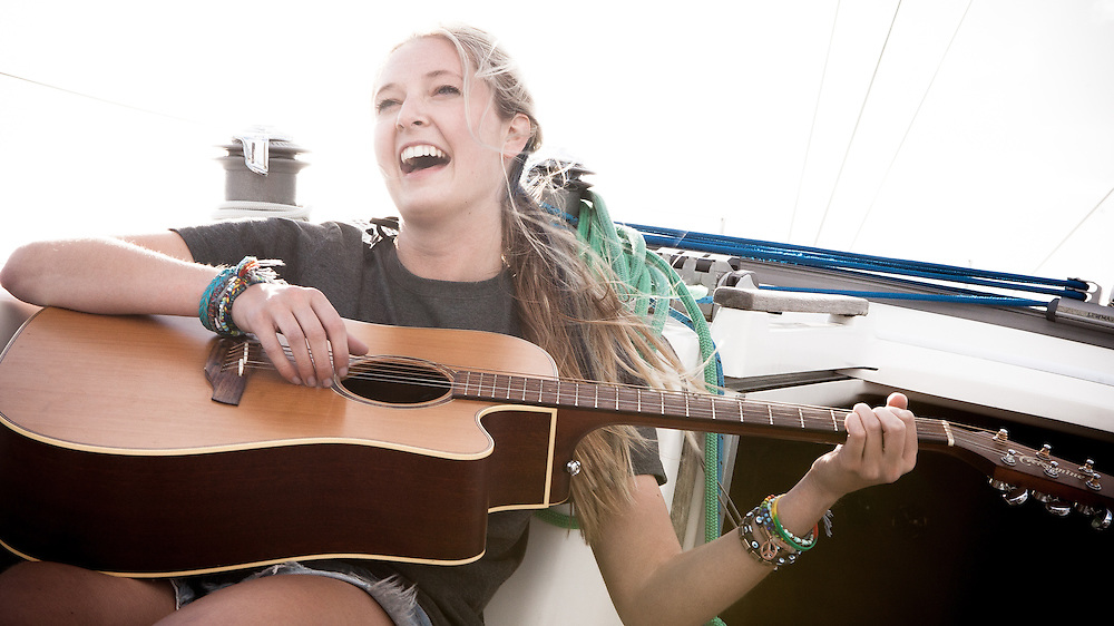 CLIENT: Boating NZ (Fairfax Media)<br /> DESCRIPTION: Portraits of singer/songwriter Jamie McDell