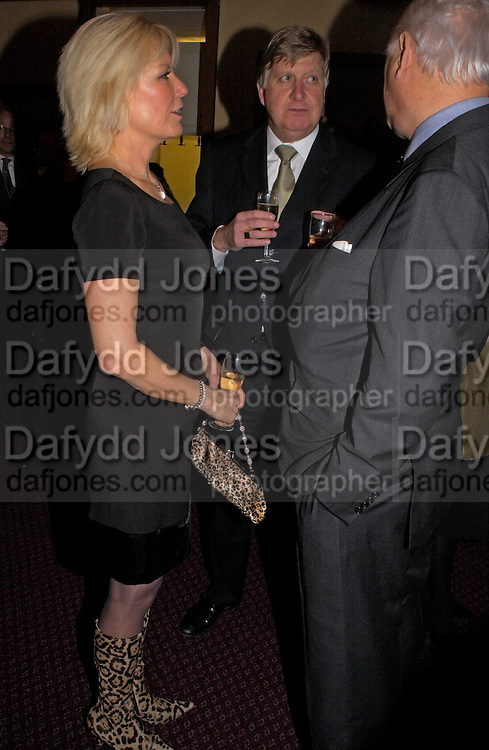 HILARY HARRISON-MORGAN, Reception to support the Hyde Park Appeal for Liberty Drives ( a charity which enables people to travel around Hyde Park in electric buggies) in the presence of Prince Michael of Kent. Officers Mess. Household Cavalry Mounted Regiment. Hyde Park Barracks. 30 November 2004. ONE TIME USE ONLY - DO NOT ARCHIVE  © Copyright Photograph by Dafydd Jones 66 Stockwell Park Rd. London SW9 0DA Tel 020 7733 0108 www.dafjones.com