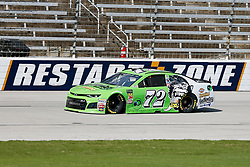 November 2, 2018 - Fort Worth, TX, U.S. - FORT WORTH, TX - NOVEMBER 02: Monster Energy NASCAR Cup Series driver Corey LaJoie (72) speeds down the frontstretch during practice for the AAA Texas 500 on November 02, 2018 at the Texas Motor Speedway in Fort Worth, Texas. (Photo by Matthew Pearce/Icon Sportswire) (Credit Image: © Matthew Pearce/Icon SMI via ZUMA Press)