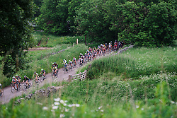 Heading to the hills at Aviva Women's Tour 2016 - Stage 3. A 109.6 km road race from Ashbourne to Chesterfield, UK on June 17th 2016.