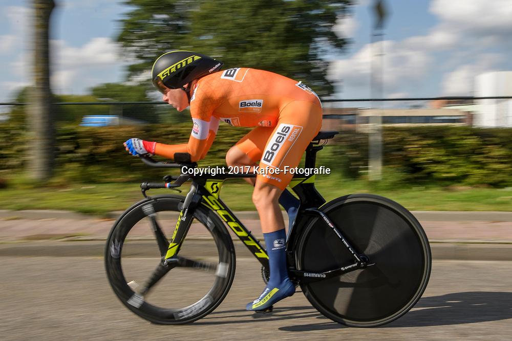 31-08-2017: Wielrennen: Boels Ladies Tour: Roosendaal<br /> Annemiek van Vleuten wins de time trail at Roosendaal and keeps the lead in the general classification