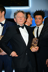File photo : Roman Polanski attending the 39th Annual Cesar Film Awards ceremony held at the Theatre du Chatelet in Paris, France on February 28, 2014. Film dirctor Roman Polanski has given up a chance to preside over the Cesar awards - France's equivalent of the Oscars, his lawyer said on Thursday after the decision to hand him the role caused outrage among women's groups, who had called for protests. Their anger is caused by the fact Polanski has been wanted in the US for almost four decades for the rape of a 13-year-old girl in Los Angeles in 1977. Photo by Bernard-Briquet-Orban/ABACAPRESS.COM  | 436361_095 Paris France