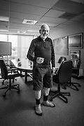 Sir Hugh Greene, contractor, philanthropist.<br />