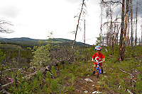 Rider - Owen Hogan (3 years old), Trail Name - Logan's Run, Whitehorse Yukon