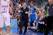 DESCRIZIONE: Torino Turin 2016 FIBA Olympic Qualifying Tournament Finale Final Italia Croazia Italy Croatia<br /> GIOCATORE : Ettore Messina<br /> CATEGORIA : allenatore delusione<br /> SQUADRA : Italia Italy<br /> EVENTO : 2016 FIBA Olympic Qualifying Tournament <br /> GARA : 2016 FIBA Olympic Qualifying Tournament Finale Final Italia Croazia Italy Croatia<br /> DATA : 09/07/2016<br /> SPORT: Pallacanestro<br /> AUTORE : Agenzia Ciamillo-Castoria/Max.Ceretti <br /> Galleria : 2016 FIBA Olympic Qualifying Tournament <br /> Fotonotizia : Torino Turin 2016 FIBA Olympic Qualifying Tournament Finale Final Italia Croazia Italy Croatia<br /> Predefinita :