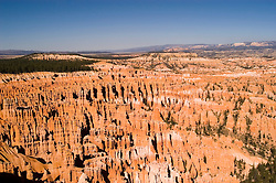 Bryce Canyon National Park, Rock formations, hoodoos of Silent City and ampitheater from Bryce Point, erosion, sunrise, arid, Utah, UT, Southwest America, American Southwest, US, United States, Image ut355-18168, Photo copyright: Lee Foster, www.fostertravel.com, lee@fostertravel.com, 510-549-2202
