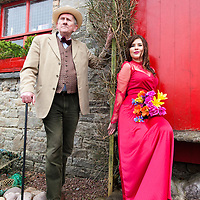 Charles Clancy playing Emile de Becque and Rebecca Pike playing Nellie Forbush in the upcomming production of the musical South Pacific by the Kilrush Choral Society