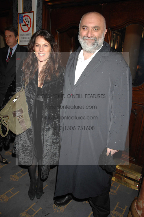 ALEXEI SAYLE and LISE MEYER at a gala evening preview of Edward Albee's The Lady from Dubuque in aid of Masterclass at The Theatre Royal, Haymarket, London on 19th March 2007<br /><br />NON EXCLUSIVE - WORLD RIGHTS
