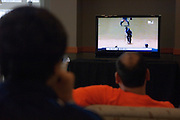 18110Students Watch the ICC Cricket World Cup, India vs. Sri Lanka in Baker Center on Friday, March 23rd