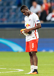 24.08.2016, Red Bull Arena, Salzburg, AUT, UEFA CL, FC Red Bull Salzburg vs Dinamo Zagreb, Play off, Rueckspiel, im Bild Diadie Samassekou (FC Red Bull Salzburg) // during the UEFA Championsleague Play off 2nd Leg Match between FC Red Bull Salzburg and Dinamo Zagreb at the Red Bull Arena in Salzburg, Austria on 2016/08/24. EXPA Pictures © 2016, PhotoCredit: EXPA/ JFK