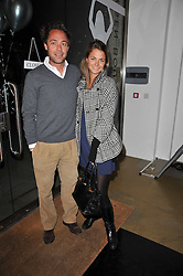 DAN PHILIPSON and ZAZA WILSON at a party to launch pop-up store Oxygen Boutique, 33 Duke of York Square, London SW3 on 8th February 2011.