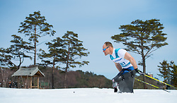 March 17, 2018 - Pyeongchang, South Korea - the Cross Country event Saturday, March 17, 2018 at the Alpensia Biathlon Center at the Pyeongchang Winter Paralympic Games. Photo by Mark Reis (Credit Image: © Mark Reis via ZUMA Wire)