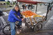 Fruit vendors, Lima, Peru