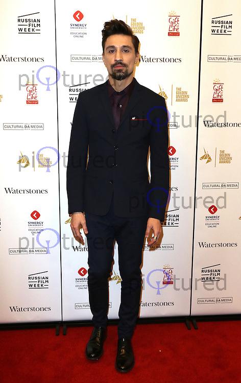 Dima Bilan, The Heritage Of Love - UK film premiere, Regent Street Cinema, London UK, 30 November 2016, Photo by Richard Goldschmidt