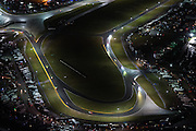 January 26-29, 2017: Rolex Daytona 24. Daytona International Speedway at night during the 55th running of the Rolex 24