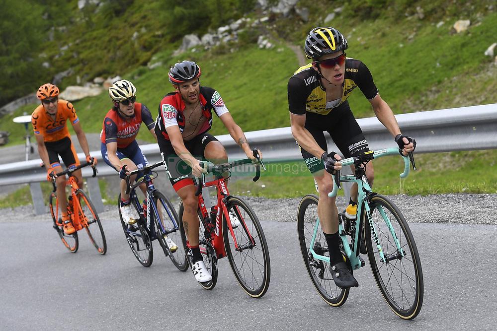 June 16, 2017 - Solden, Suisse - SOLDEN, AUSTRIA - JUNE 16 : CARUSO Damiano (ITA) Rider of BMC Racing Team, KRUIJSWIJK Steven (NED) Rider of Team Lotto NL - Jumbo during stage 7 of the Tour de Suisse cycling race, a stage of 160 kms between Zernez and Solden on June 16, 2017 in Solden, Austria, 16/06/2017 (Credit Image: © Panoramic via ZUMA Press)