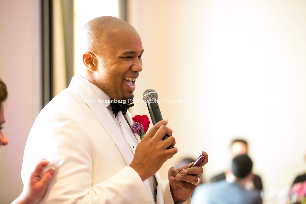 5/21/13 12:34:47 PM .The wedding of April and Sakou on Windy City Live... . © Todd Rosenberg Photography 2013