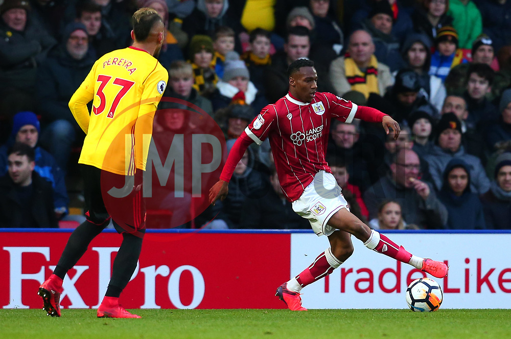 Opi Edwards of Bristol City - Mandatory by-line: Robbie Stephenson/JMP - 06/01/2018 - FOOTBALL - Vicarage Road - Watford, England - Watford v Bristol City - Emirates FA Cup third round proper