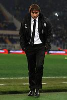 Antonio Conte allenatore Juventus.Roma 29/1/2013 Stadio Olimpico.Football Calcio 2012/2013 coppa Italia.Lazio Vs Juventus .Foto Andrea Staccioli Insidefoto