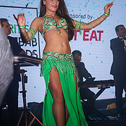 Dancers preforms at the 5th British Kebab Awards at Park Plaza Westminster ,London,UK. by See Li