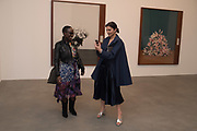 Lynette Yiadom-Boakye; Louise Neri,  Substance and Shadow; Alberto Giacometti cculptures and their photographs by Peter Lindbergh. Gagosian, Britannia Street, WC1X 9JD