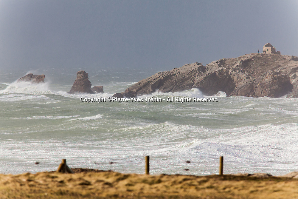 Friday, February 14, 2014, storm Ulla hits Brittany-France from the south, after the area has already had to deal with 14 other storms since Christmas Day. Beauty of the raging elements is matched as the importance of flooding and destruction observed following recorded up to 185 km/h winds!